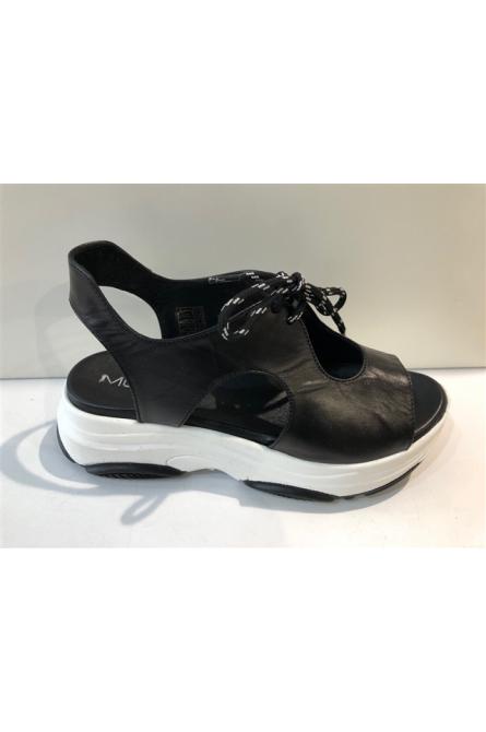 sandales mot clé noir