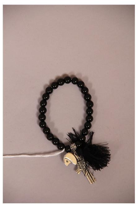 bracelet gvn by moïta noir