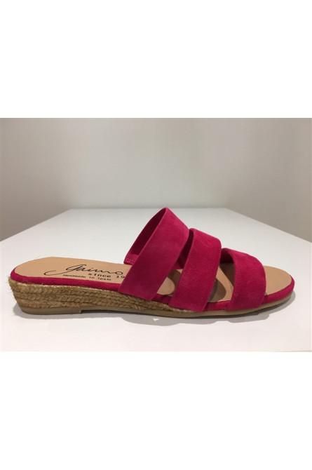 sandales gaimo espadrilles fushia