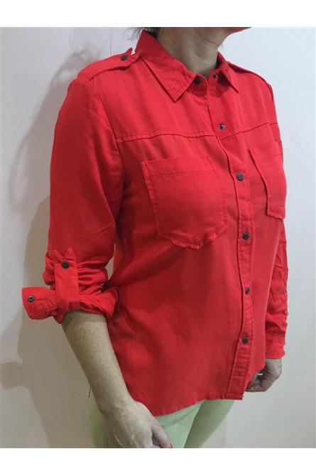 chemise maisosn scotch rouge