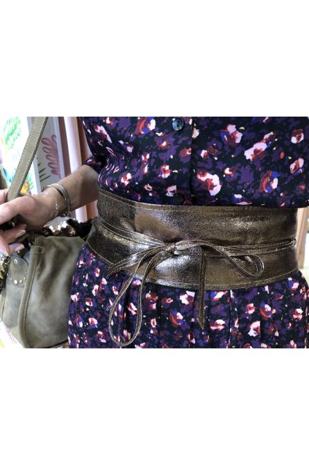 ceinture  molly bracken marron