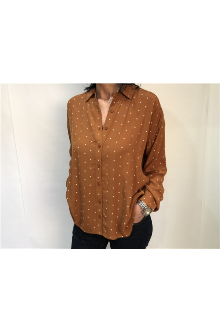 blouse indi & cold cannelle