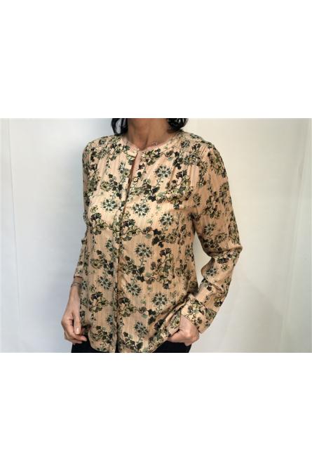 blouse indi & cold imprimé à fleurs