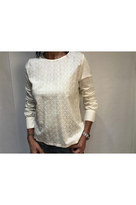 blouse indi & cold creme