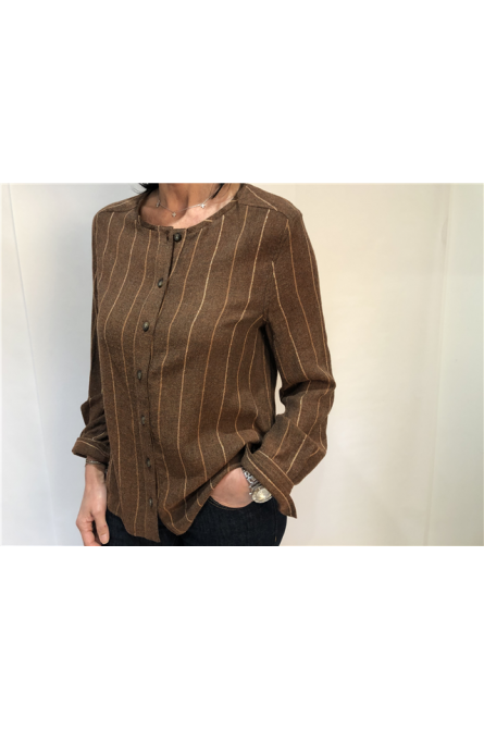 blouse indi & cold terracotta
