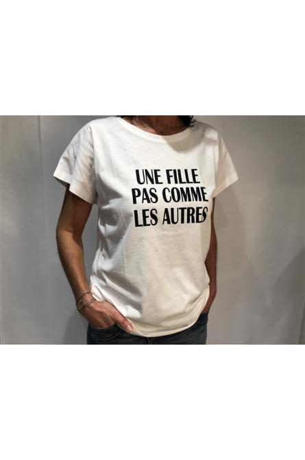 t-shirt  la petite française blanc
