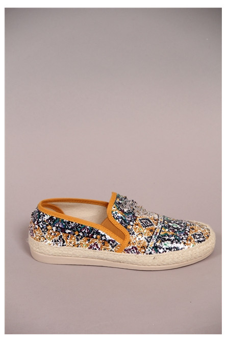 espadrille humat moutarde