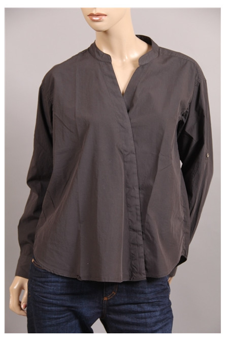 chemise closed anthracite