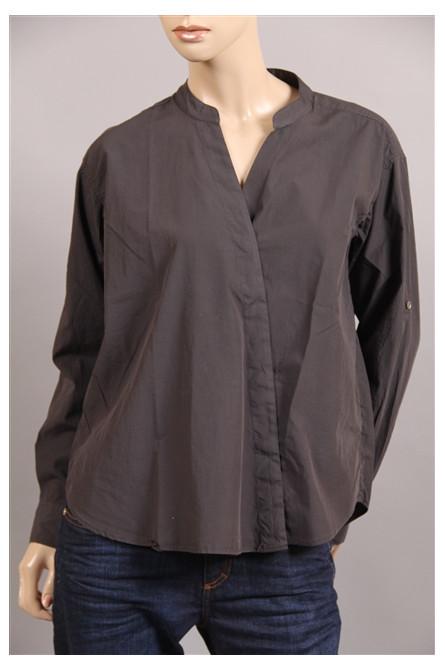 chemise closed anthracite