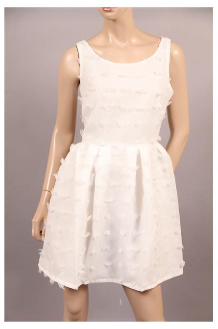 robe molly bracken blanc
