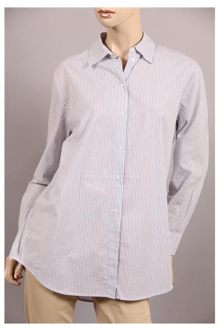 chemise maison scotch rayure blanc/bleu