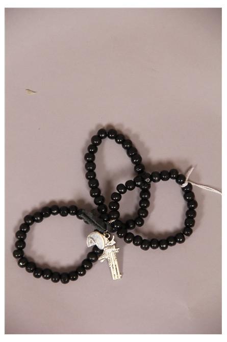 bracelets gvn by moïta noir