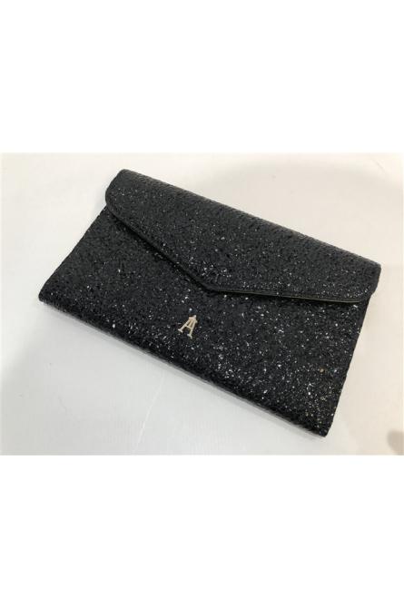 porte-feuille craie noir/jaune