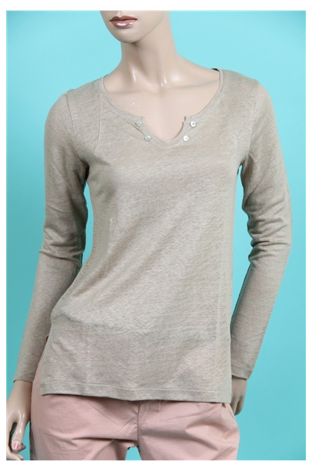 tshirt may june manches courtes sil mastic
