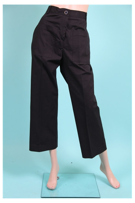 pantalon large ottod'ame noir