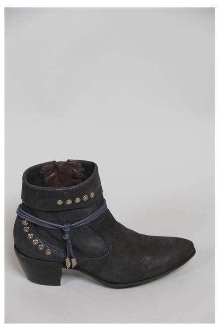 boots spiral bleu