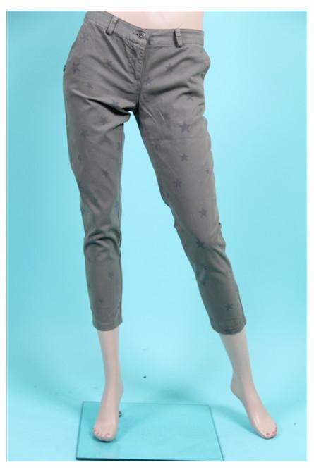 pantalon pakolitto kaki imprimé
