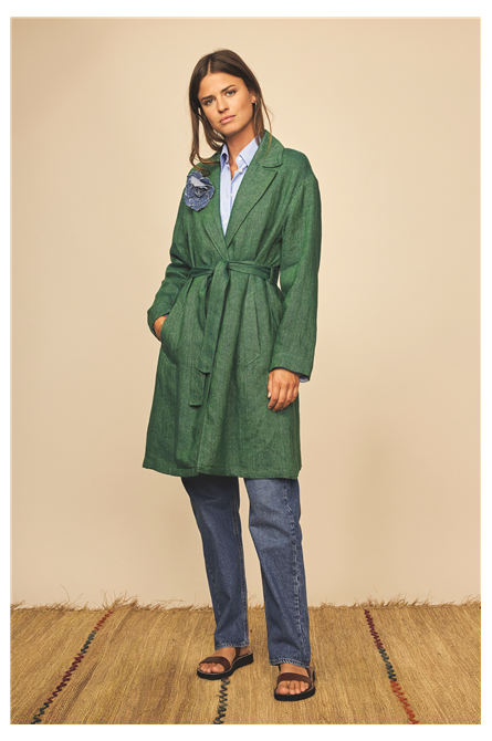 manteau diega vert