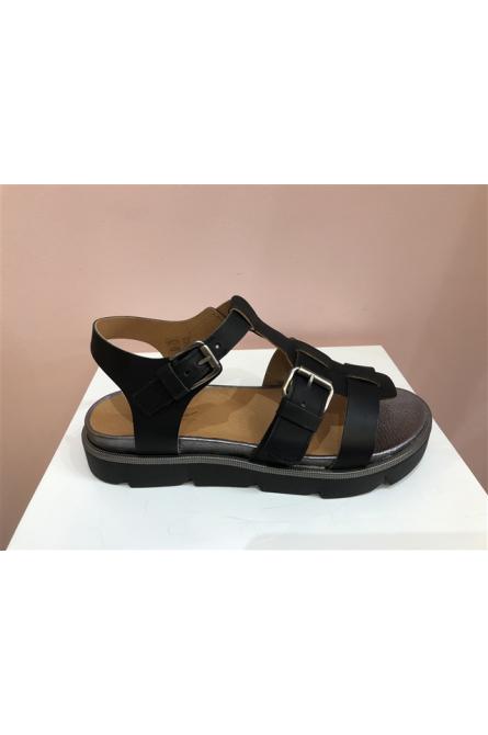 sandales minka desidn noir