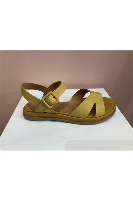 sandales minka design jaune