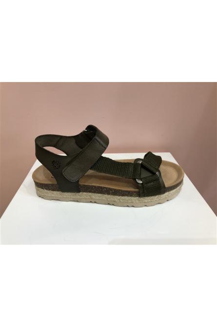 sandales yokono kaki