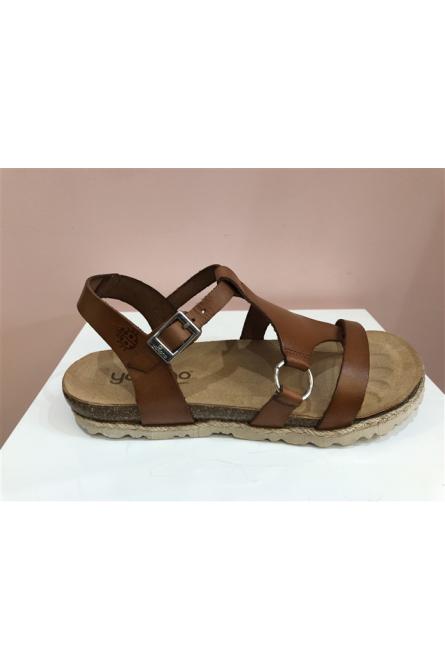 sandales yokono nuez