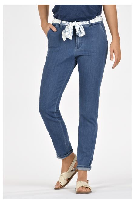 pantalon kanopé bleu