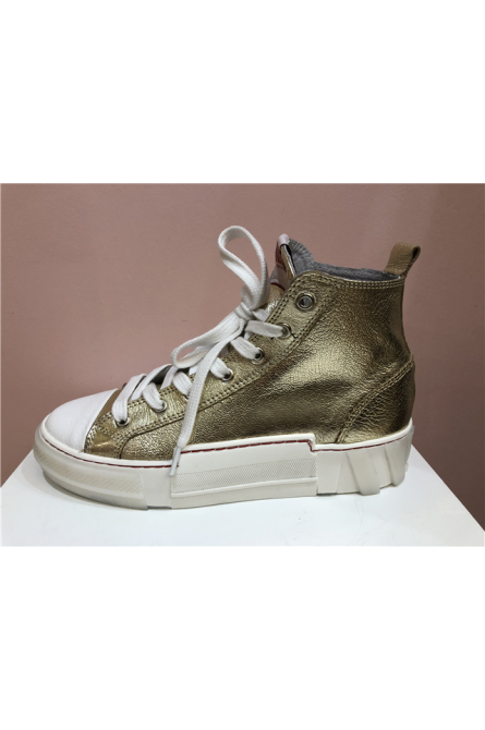 sneakers semerdjian doré